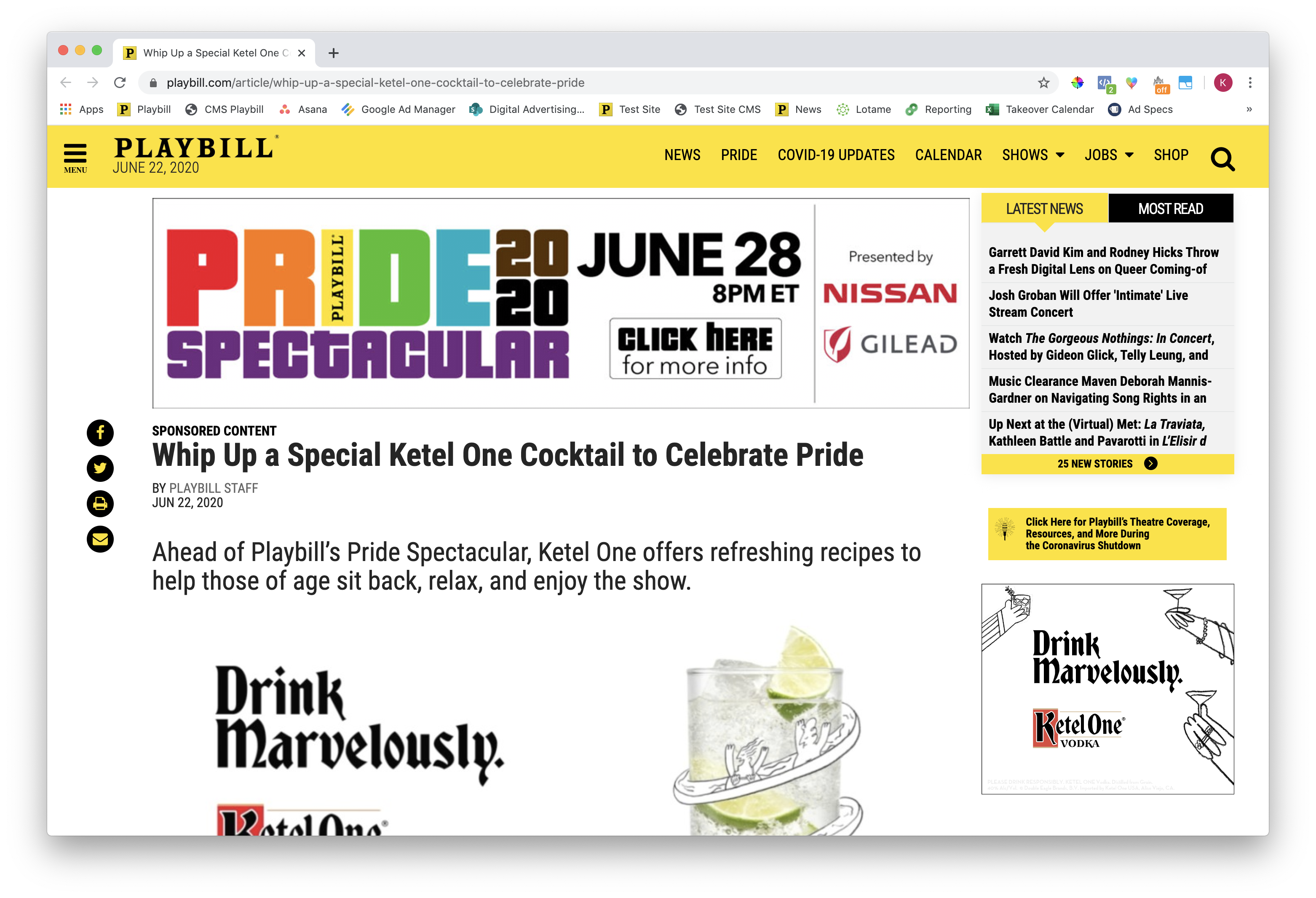 Ketel One Desktop RR