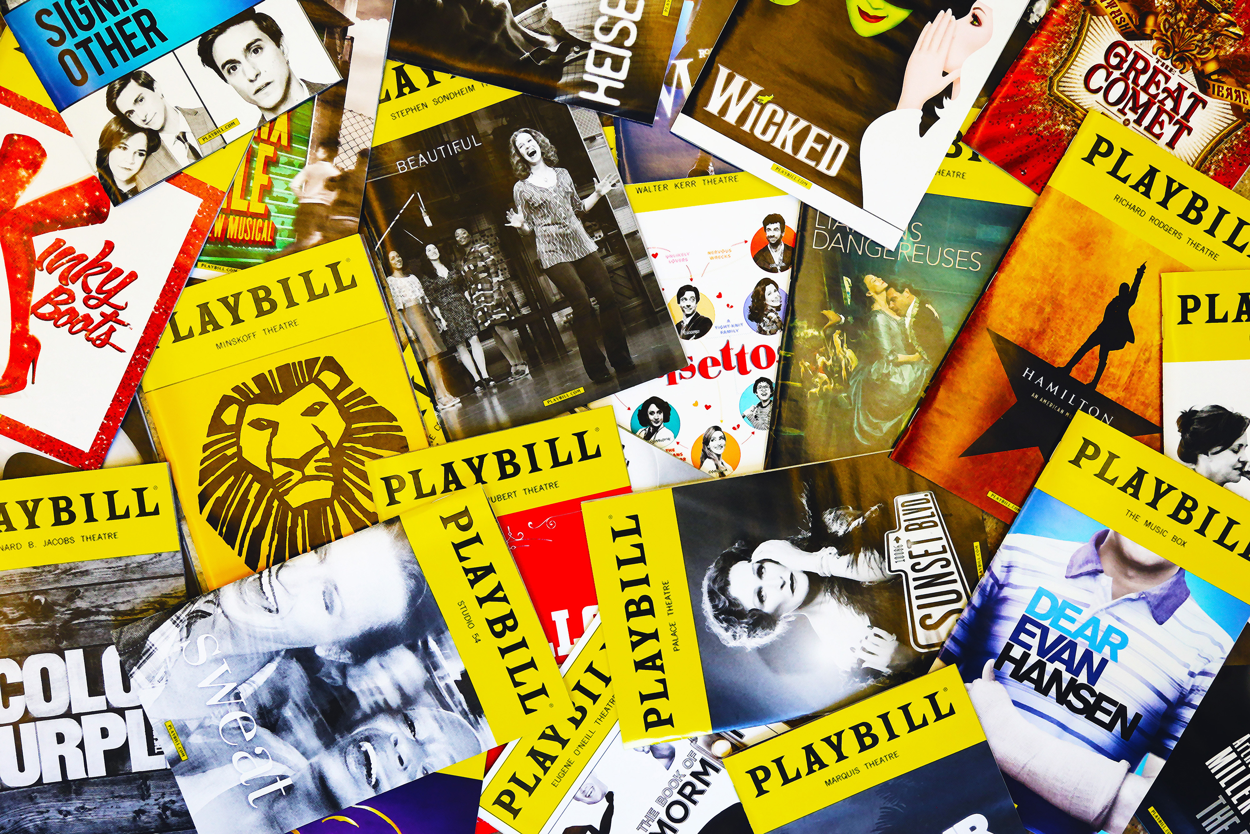 Playbill cover cluster 02 hr